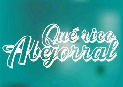 """Logo y campaña  """"Qué rico Abejorral"""""""