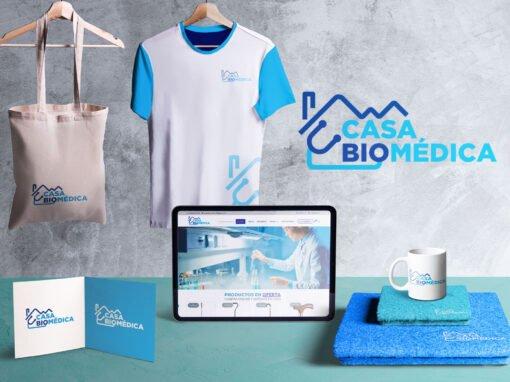 Logotipo para la Casa Biomédica