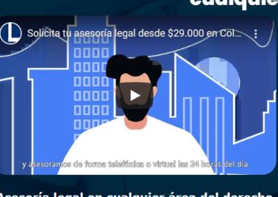 Video de presentación para www.legalidad.com.co