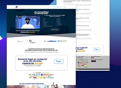 Sitio para www.legalidad.com.co