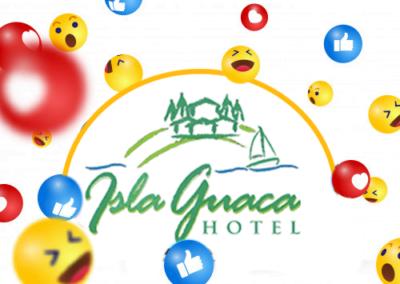 Publicaciónes para instagram del Hotel Isla Guaca